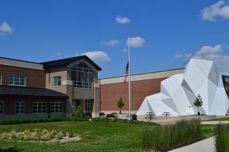 Northridge Local Schools Front Iceberg