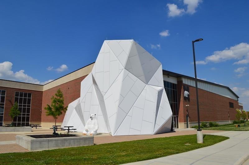 Northridge Local Schools Polar Bear & Iceberg